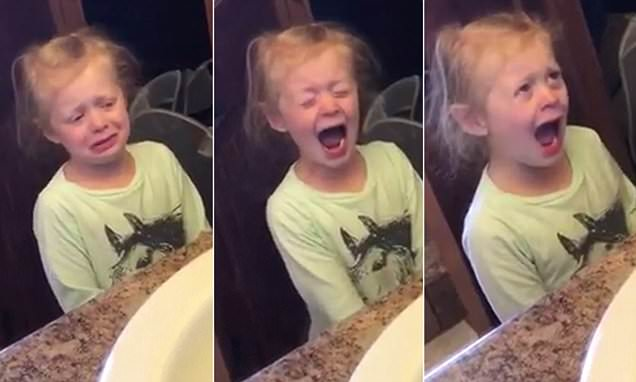 Sassy 4-year-old throws a tantrum because her mom refuses to 'fix' her hairstyle