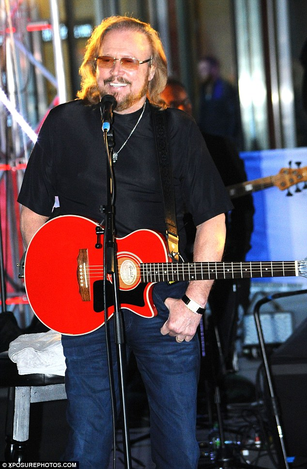 Riding solo: Barry Gibb's In The New world tour will begin in April next year