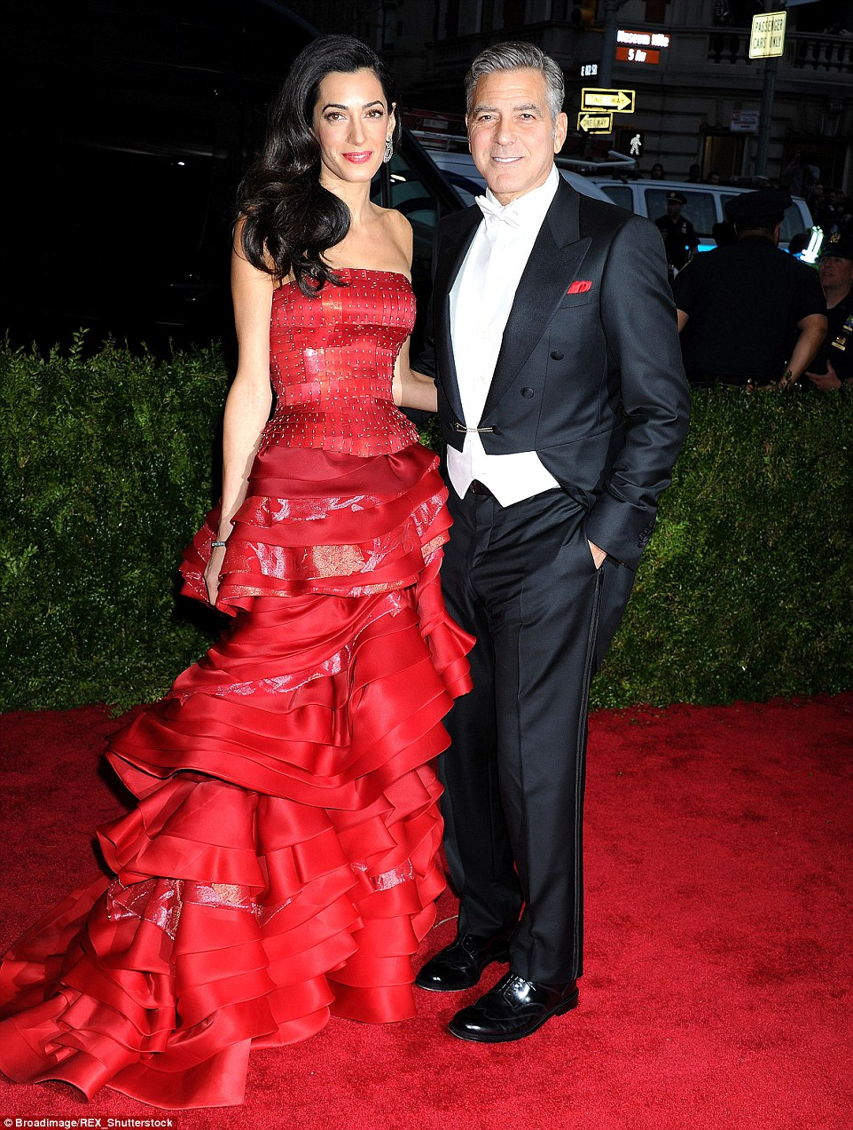 Burgeoning property empire:Amal Clooney with her movie star husband George now own a host of properties