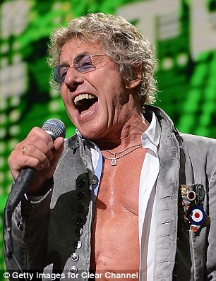 Roger Daltrey of The Who will appear