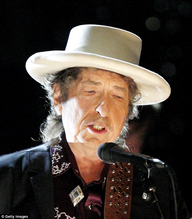 The eldest statesmen in this group includes the Freewheelin' Bob Dylan, aged 75