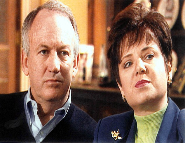 JonBenet's parents John and Patsy (pictured) were suspects for years. Patsy died of cancer in 2006, with the case still unsolved