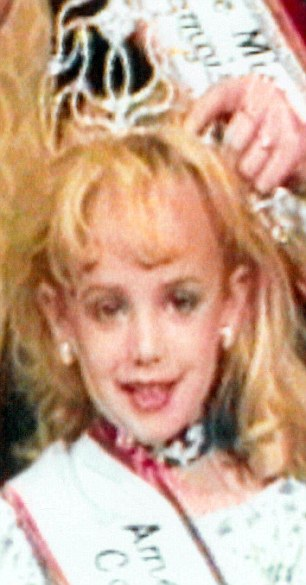 JonBenet who entered beauty pageants as a child