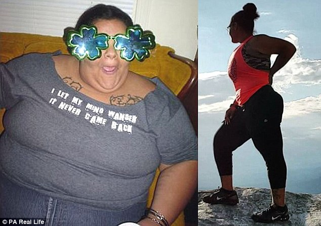 After taking up hiking, the pounds began to melt away, and it wasn't long before working out became an integral part of her life, right