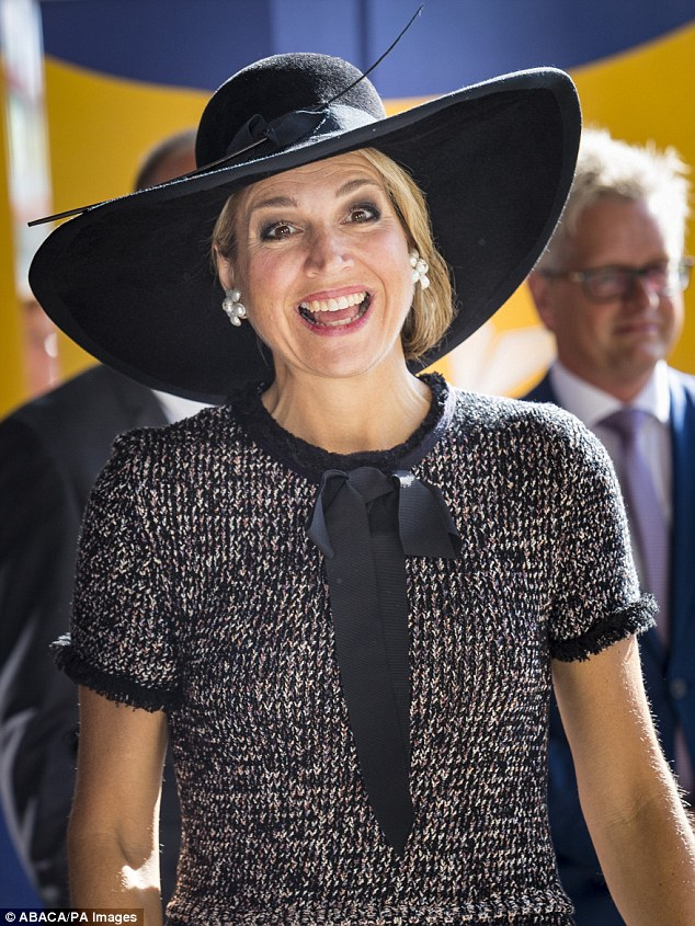 On Tuesday Maxima visisted Rotterdam today for the fifth European Nursing Congress