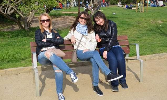 Optical illusion park bench snap leaves the internet baffled