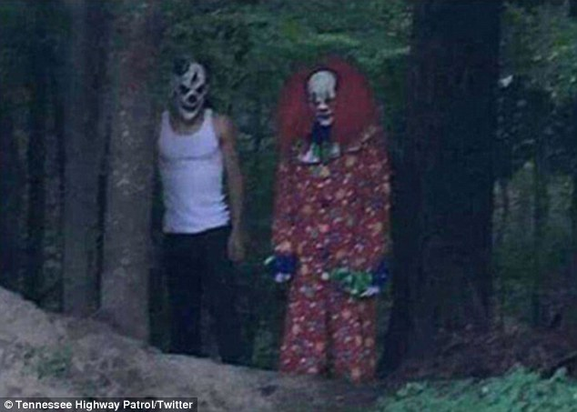 Some creepy clowns reported in August in South Carolina when police were called in to investigate what turned out to be bogus accounts of men dressed as clowns trying to lure children into the woods