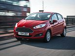 Ford Fiesta motor car.