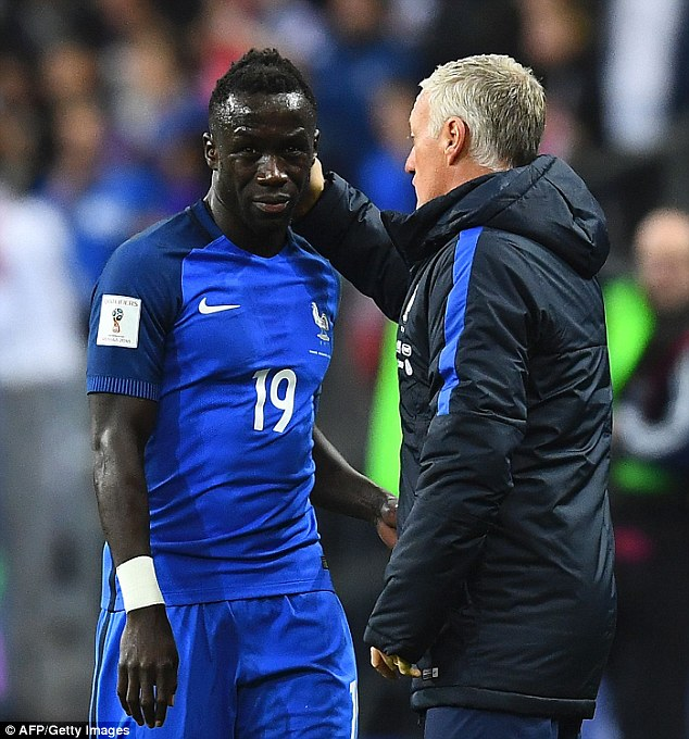 Bacary Sagna fears he has a hamstring tear which he picked up France's win over Bulgaria