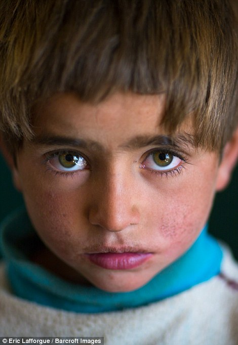 A young Wakhi nomad boy. The area has not been infiltrated with sports stars or celebrities