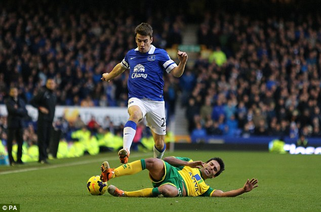 The 27-year-old admits he initially found it hard to settle at Everton but is now a key player