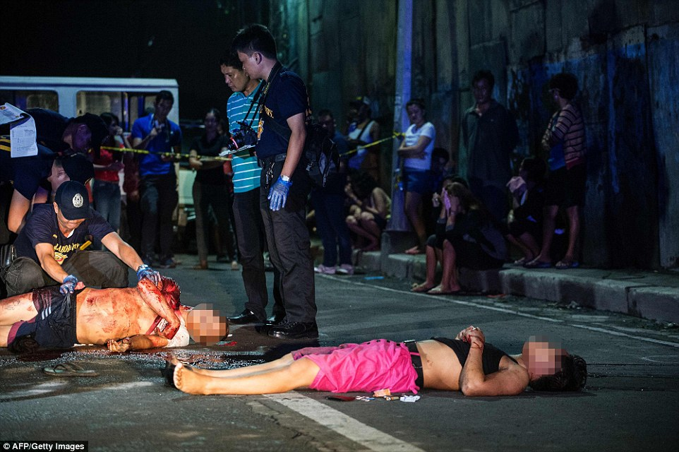 The slaughter has equated to roughly 36 Filipinos killed everyday since Duterte took over as leader of the nation