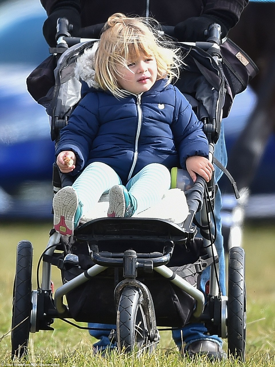 Zara is the envy of mothers everywhere who can't take their children into work with them as the royal does