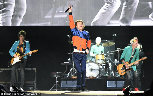 Tough act to follow: The Rolling Stones played on Friday - Day One of the inaugural music festival in Indio, CA
