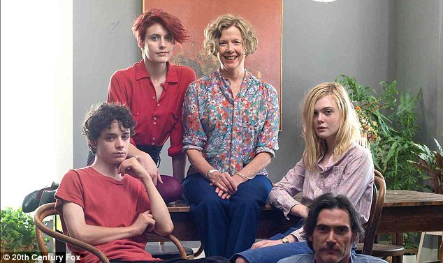 Coming soon: 20th Century Women - which also stars Lucas Jade Zumann, Greta Gerwig and Billy Crudup - opens in US theatres on January 20, 2017
