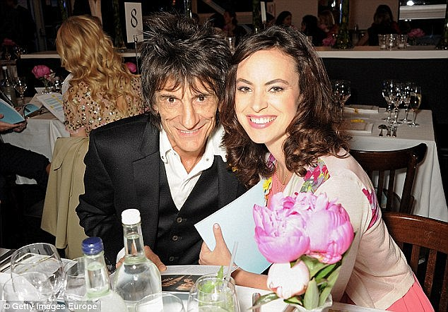 Ronnie and his theatre producer wife Sally Humphreys, who is 31 years his junior, married in 2012