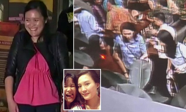 Jessica Wongso laughs when asked if she laced Mirna Salihin's coffee with cyanide