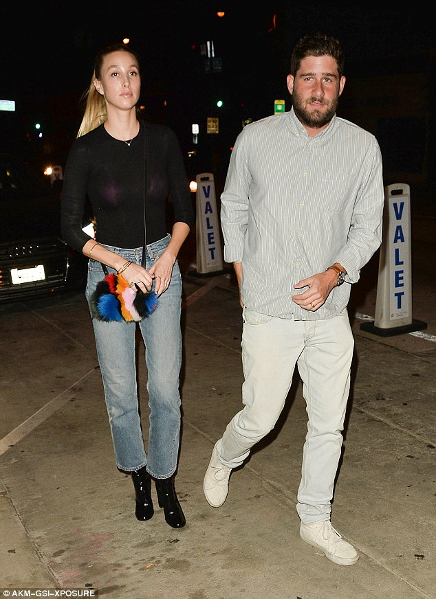 Date night! On Friday, Whitney Port, 31, and husband Tim Rosenman enjoyed an evening dinner at Catch LA in Beverly Hills