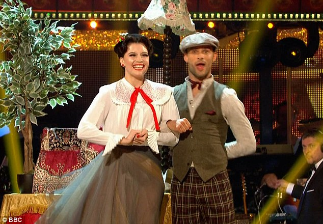 Staying in shape: Daisy revealed four hours of dancing a day is keeping her trim