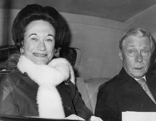 Edward VIII and Wallis Simpson pictured together leaving Claridge's Hotel in London