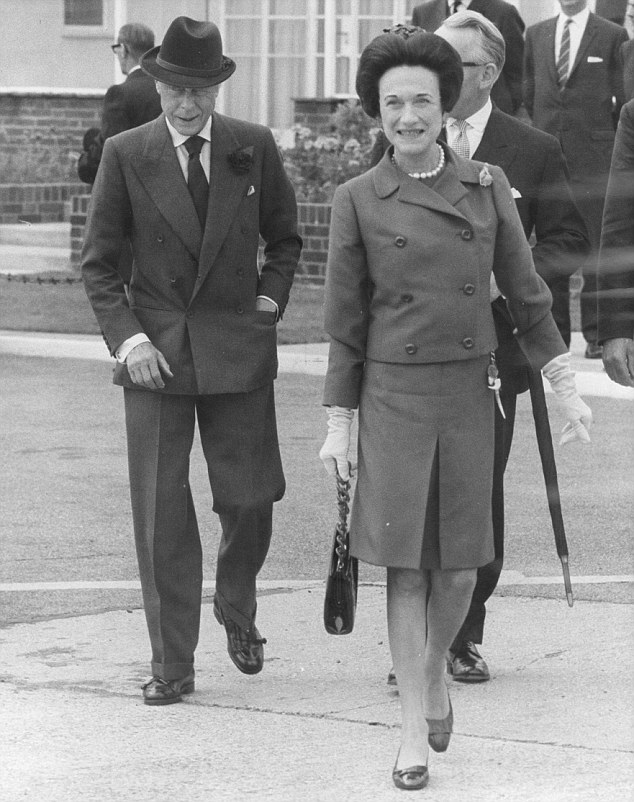 Since Edward had announced his plans to wed twice-married Wallis Simpson (pictured together), the Government had blocked his every wish