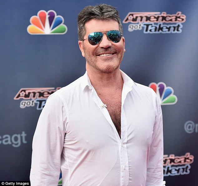 Taking no chances:Simon Cowell has increased X Factor security in the wake of Kim Kardashian's armed robbery