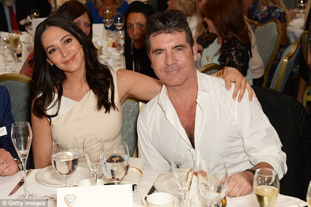 Theft: Cowell said at the time that jewellery belonging to his partner Lauren Silverman was stolen