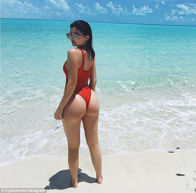 Under fire: The star was criticised earlier in the week for posting this snapshot to Instagram after Kim was robbed at gunpoint