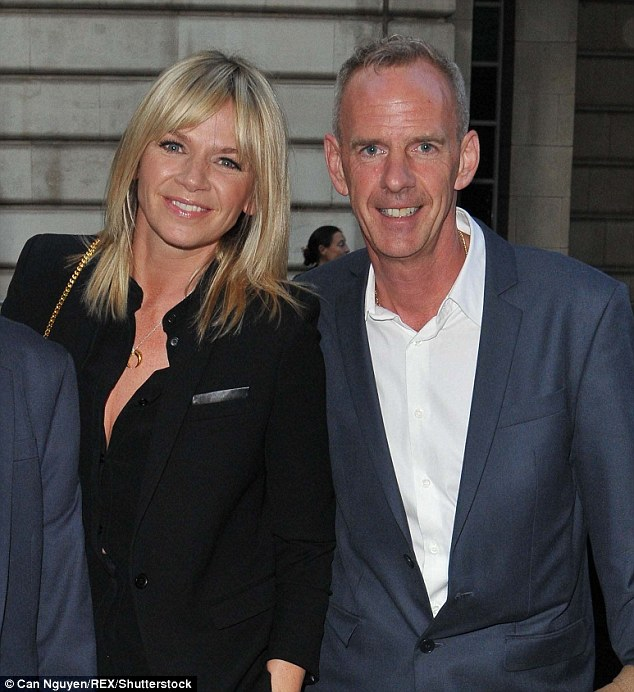 Amicable exes: The TV star's father Johnny has  spoken out about Zoe and Cook's shock break-up, insisting the former couple (pictured in May 2015) are still on good terms