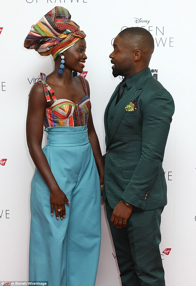 Touching story: In the movie Lupita plays the single mother of a Ugandan girl whose world is transformed after being introduced to the game of chess