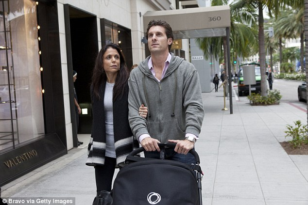 Bethenny's ex Jason Hoppy, who she divorced earlier this year and shares six year old daughter Bryn with, said of the film: 'I didn't know anything about this until after we were married. Saw it and turned 10 shades of Skinnygirl red.'