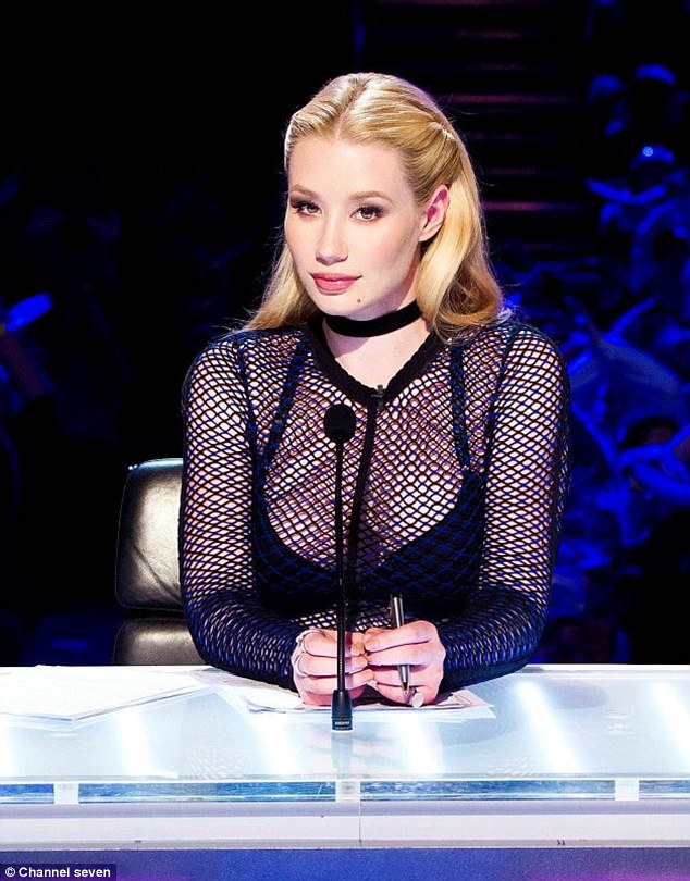 'It's pretty soul crushing': The X Factor Australia's Iggy Azalea has claimed her 'soul crushing' rise to fame has made her kinder to the TV show's contestants