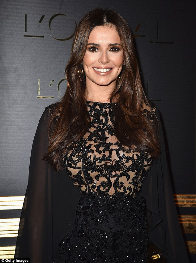 Is it true? Cheryl's ensemble did little to hide her figure earlier this week