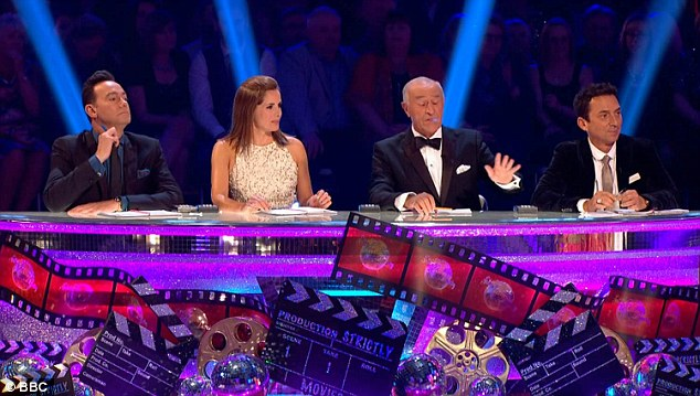 Not mincing his words: Len told Will he didn't recognise most of the salsa steps