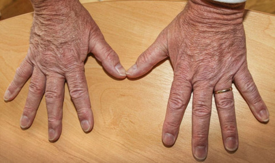 The Ukip punch-up row has taken a bizarre turn, after Mike Hookem published a photograph of his hands to 'prove' that he did not hit fellow MEP Steven Woolfe