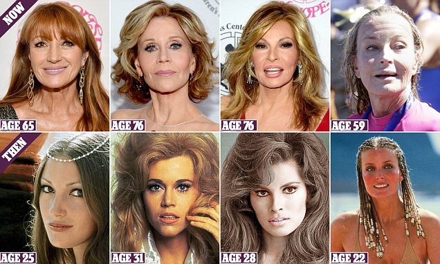 As a dazzling host of A-List beauties of a certain vintage turn out for a Hollywood