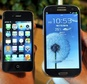 """Apple's lawsuit contends that Samsung infringed on patents for """"slide to unlock"""" and autocorrection, among others ©Jung Yeon-Je (AFP/File)"""