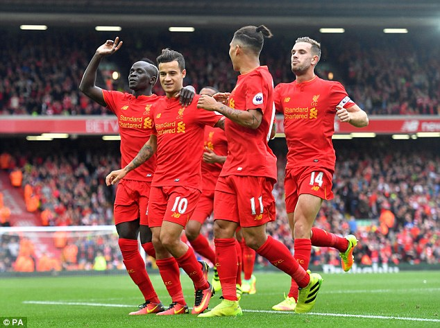 Liverpool's attackers are given freedom to roam - bringing 26 goals from nine games