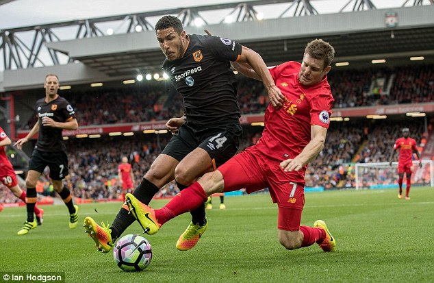 Hull were the latest team to feel the strain of Liverpool's high pressing style of play this term