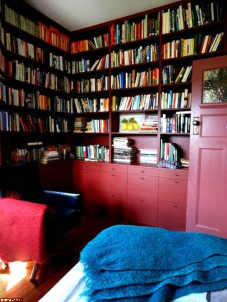 It boasts a huge library with over a thousand books, and prices start from $480 per night