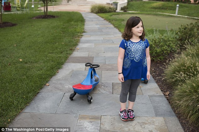 Ava (pictured) had the most common type of leukemia, acute lymphoblastic leukemia (ALL). In 90 per cent of cases, a conventional course of chemotherapy does the trick