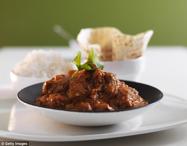Cambridge University research shows that people with a flaw in their MC4R gene have an appetite for fatty food, such as rich curries, eating up to twice as much of it as other people