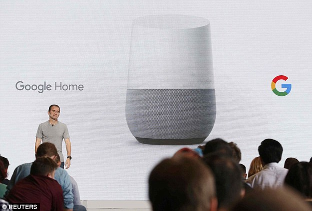 The firm also revealed its Google Home smart speaker will go on sale in November.