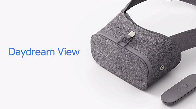 Clay Bavor revealed the firm's new $79 Daydream VR headset, that will use the new Pixel as its screen.