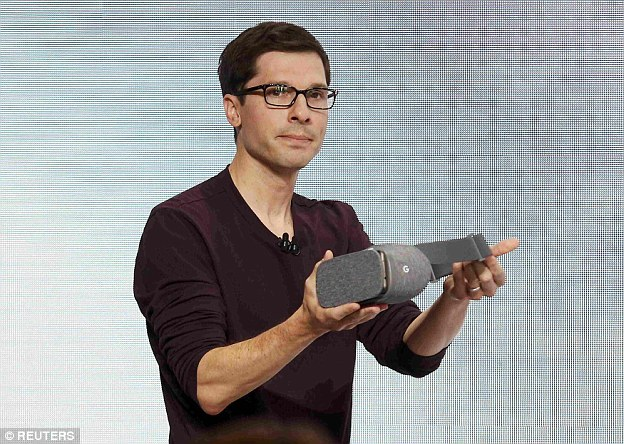 Clay Bavor revealed the firm's new Daydream VR headset, that will use the new Pixel as its screen.