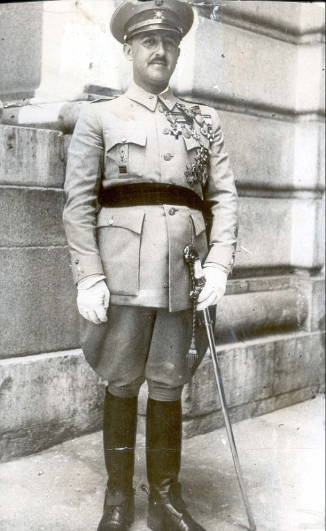 After General Franco (above) died in 1975, a law was passed pardoning the crimes of his regime. As a result, no detailed work was carried out to find out who was buried in mass graves across the country
