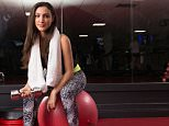 Jessica Farrugia Sharples at Virgin Active Health Club in Swiss Cottage, London. Pic Darren Jack