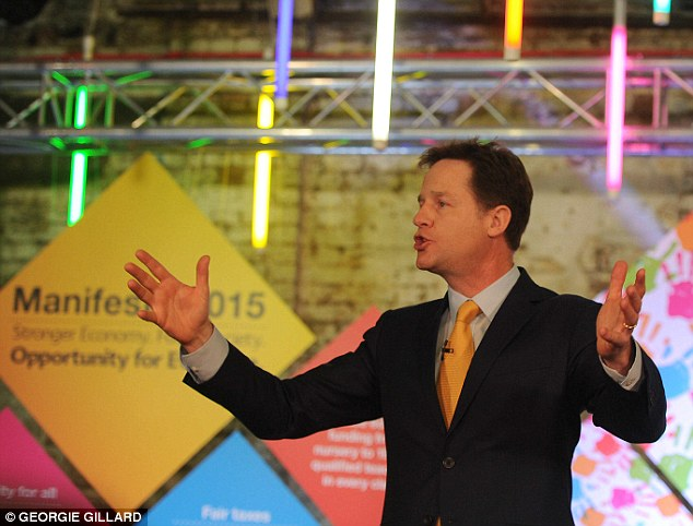 Waffle: Financiers are prepared to pay handsomely to listen to Clegg, despite the fact he has been catastrophically wrong about everything from Brexit to electoral reform