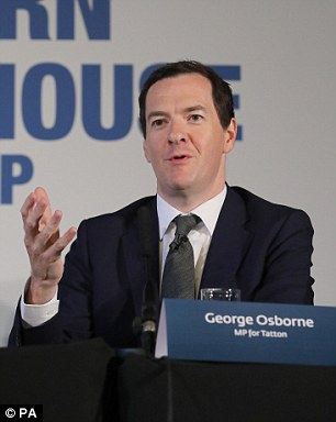 Next aboard? George Osborne is keen to join the gravy train