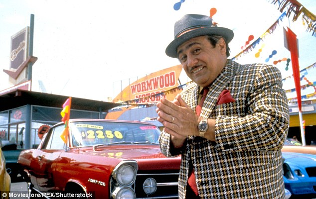 Devious: Danny DeVito as the dodgy used car salesman in the 1996 film Matilda